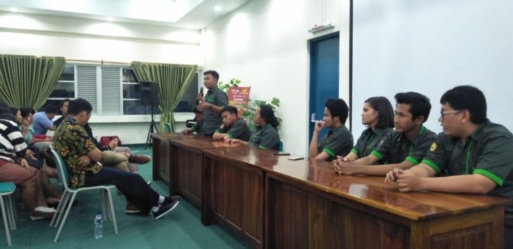 Debat Calon Ketua dan Wakil HIMA Fakultas Teknologi Informasi 2019