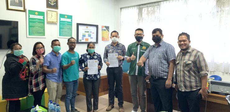 Kerjasama di bidang Pengabdian Kepada Masyarakat oleh Fakultas Teknologi Informasi UNAI dan Relawan Injil Indonesia
